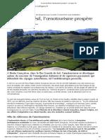 Au sud du Brésil, l'œnotourisme prospère - Le Figaro Vin