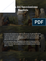 Teoría del Sucesionismo Bautista