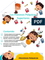 Power Point Procesos Psíquicos Superiores