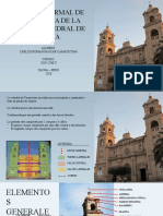 CATEDRAL DE TACNA -  DESCRIPCION