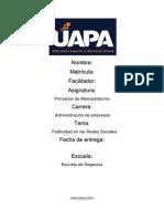 PRINCIPIOS DE MERCADOTECNIA- 2018-06074 UNIDAD Vlll