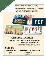 SOCIALES Guía #5 - 10°
