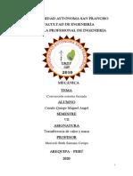 UNIVERSIDAD AUTÓNOMA SAN FRANCISO - Trabajo de investigacion