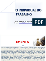1 - PLANO DE AULA - DIREITO DO TRABALHO