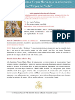 Cuarto dia -Novena a la Virgen del Valle 2020 -