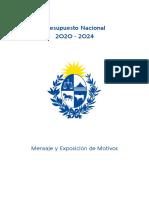Proyecto Presupuesto Nacional 2020-2024