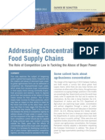 Addressing Concentration in Food Supply Chains