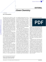 Ionic liquids in Green Chemistry