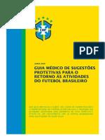 Guia Médico para o Retorno às Atividades do Futebol Brasileiro - Junho de 2020
