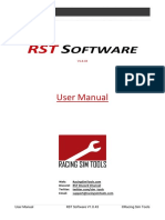 RST Software User Manual