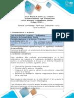 Guia de actividades y rúbrica de evaluación - Fase 1 - Contextualización SISTEMAS INTEGRADOS