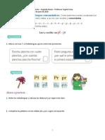 Guía 1 Grupos consonánticos pl-pr