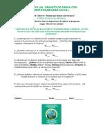 Fase final. Presentación de resultados.-Nueva Propuesta de Encuesta -Taller Ecologia Humana.