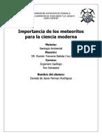 Importancia de los meteoritos para la ciencia moderna  1.docx