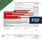 Lista de chequeo de documentos y requisitos para la contratación de prestación de servicios