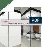 Switchable Smart PDLC Film and Glass-InnoGlass