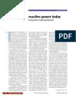 reactive power today