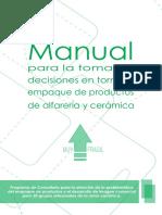 Manual de Packaging Alfarería
