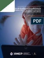 Desafíos de la educación a distancia 2020