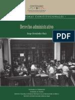Derecho Administrativo de Jorge Fernández Ruiz
