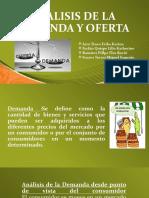 ANALISIS DE LA DEMANDA Y OFERTA1