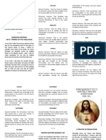 Intentions of Pope Benedict XVI 2011