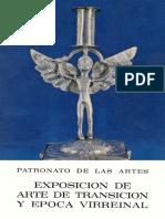 Patronato de las Artes - Exposición de arte de transición y época Virreinal