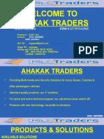 AHAKAK TRADERS - Proposal Solutions