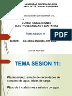 EXPOSICION SESION 11 INST ELECT Y SANIT