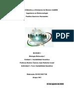 Foro U3. Biología Molecular I