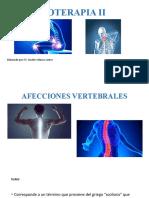 Afecciones de la columna vertebral