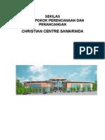 Ringkasan Pokok-pokok Perencanaan & Perancangan Christian Centre