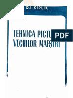 Tehnica picturii vechilor meșteri D.I. Kiplik