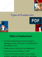 Types of Foodservice