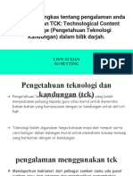 Pengetahuan Teknologi Kandungan (TCK)