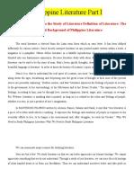Philippine-Literature-Part-I