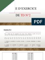 TD 2 Stat correction 2020