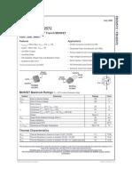 FDD2572 mosfet injetor 1-3alimentação