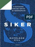 Napoleon Hill - SIKER