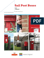 Royal Mail Post Boxes Heritage Agreement