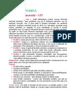 Medicină internă - LP
