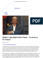 Dabur's Spoonful of the Cloud – As sweet as it's honey! _ CIO Research Center