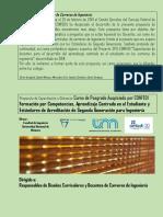 Flyer completo Difusión MECEK V CONFEDI 2019