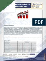 HOJA_TECNICA_EXTINTORES PORTATIL DE PQS TIPO ABC