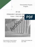 DP-68 Permanent Grounch Anchors Vol 1