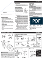 Manual Velo 7 cuentakilómetros bici