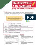La-Idea-Principal-y-las-Ideas-Secundarias-para-Sexto-Grado-de-Primaria
