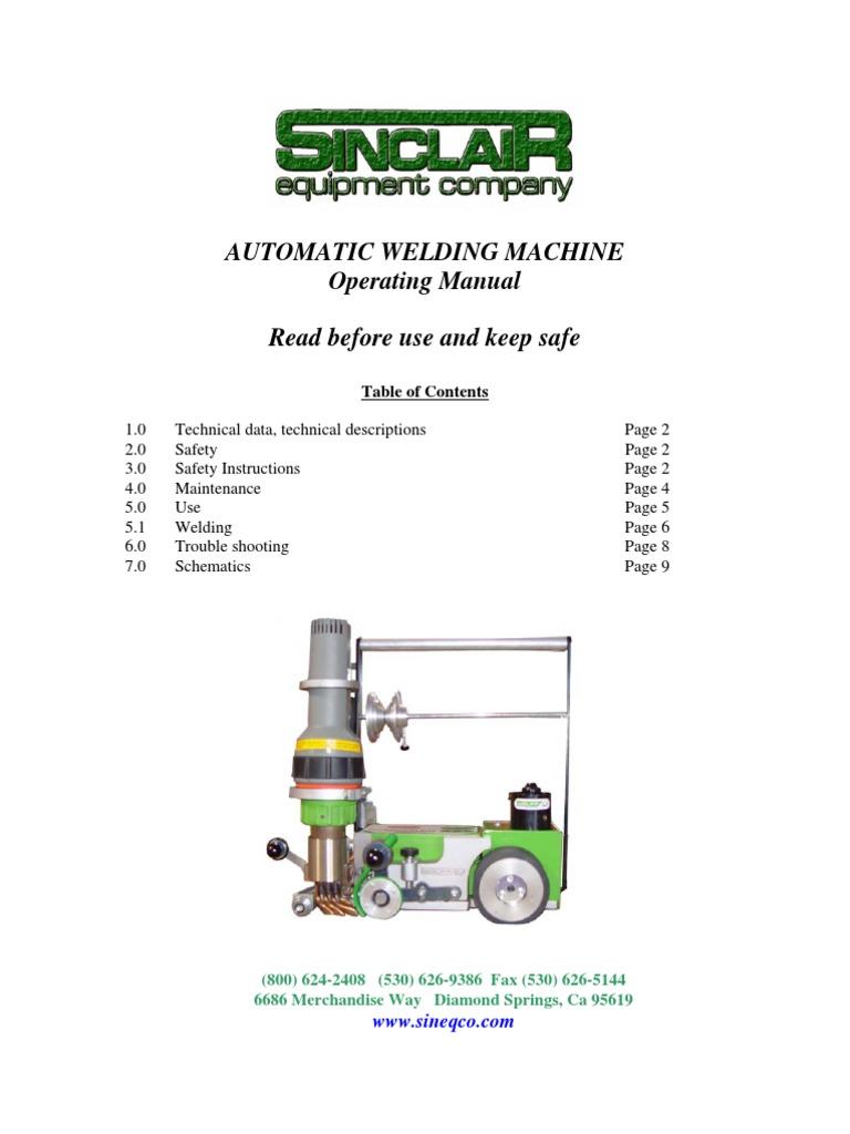 Automatic Welding Machine Implied Warranty How To Read A Diagram