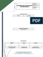 PR-HSE-0 Programa de Capacitacion y Entrenamiento.docx
