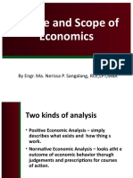 4 scrib upload Course Introduction Nature and Scope of Economics